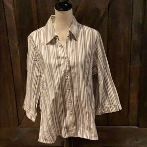 Tradition Country Collection button down top